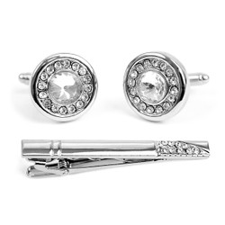 Cufflink and Tie Bar Set CTB2303