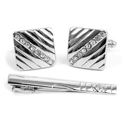 Cufflink and Tie Bar Set CTB2304