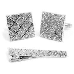 Cufflink and Tie Bar Set CTB2305