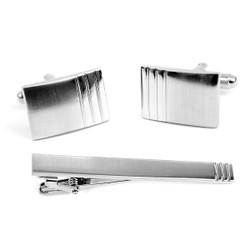 Cufflink and Tie Bar Set CTB2308