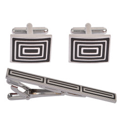 Cufflink and Tie Bar Set CTB2190