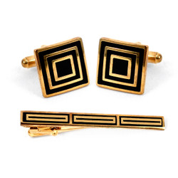 Cufflink and Tie Bar Set CTB2240