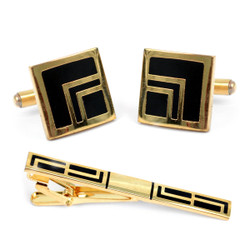 Cufflink and Tie Bar Set CTB2250