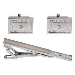 Cufflink and Tie Bar Set CTB2140
