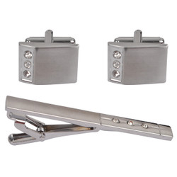 Cufflink and Tie Bar Set CTB2100