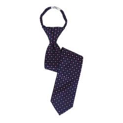 Boys Geometric/Polka Dot Zipper Tie - MPWZ3303-PR5-17