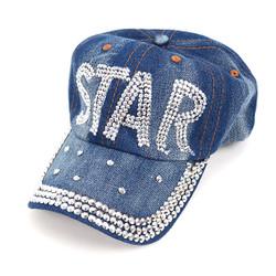 "Bling Studs ""Star"" Denim Cap CP144737"
