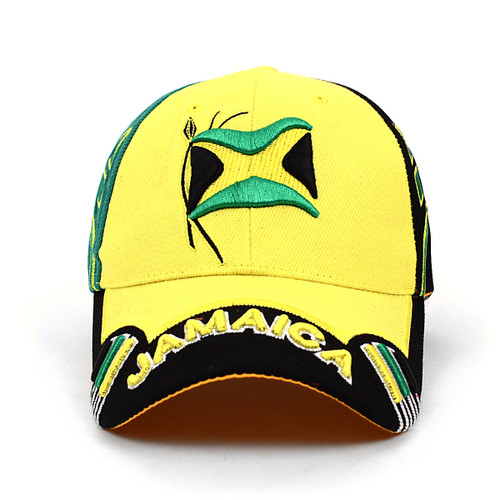 Jamaica Yellow Baseball Cap EBC10283