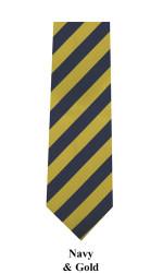 Formal College Boy's Micro Fiber Poly Tie - MPWB2401