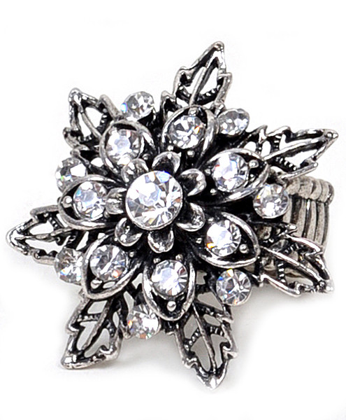 Stretch Ring Flower - IMJS0649
