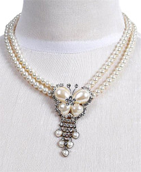 Pendant Necklace and Earrings Set - IMJS0507