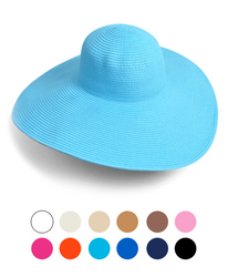 "Women's 6"" Brim Floppy Hat H0535"