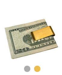 Sleek Design Zinc-Alloy Money Clip MC-2