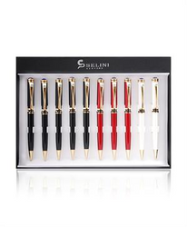 10 Piece Boxed Multi Color Pen Set 10P140