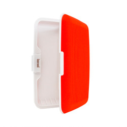 Card Guard Red Silcone Rubber Non-Slip Compact Card Holder CASE003-RD