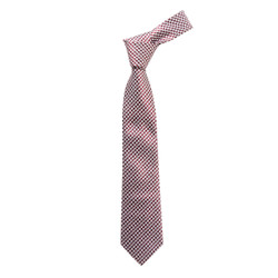 "Boy's 49"" Hounds Tooth Red Fashion Tie"