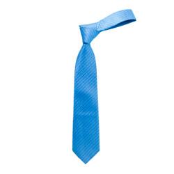 Boy's Turquoise Geometric/Polka Dot Micro Fiber Poly Woven Tie - MPWB3303-TQ3