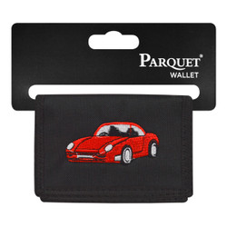 Men's Polyester Tri-fold Velcro Wallets MW10104