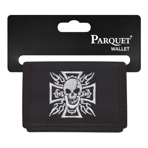 Men's Polyester Tri-fold Velcro Wallets MW10108