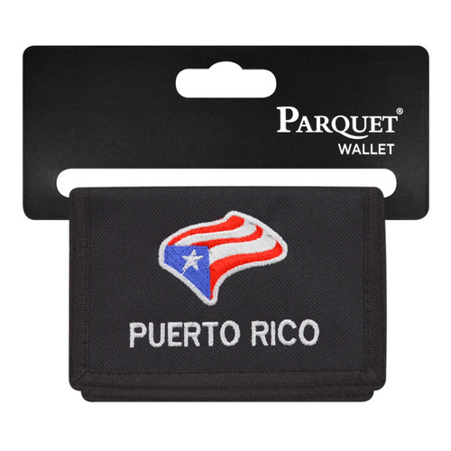 Men's Polyester Tri-fold Velcro Wallets MW10109