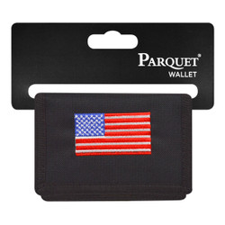 Men's Polyester Tri-fold Velcro Wallets MW10111