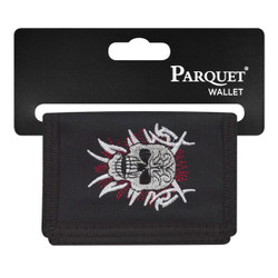 Men's Polyester Tri-fold Velcro Wallets MW10113