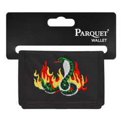 Men's Polyester Tri-fold Velcro Wallets MW10121