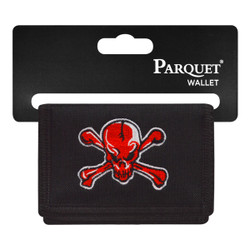 Men's Polyester Tri-fold Velcro Wallets MW10126