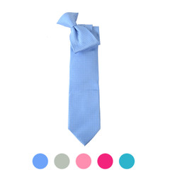 Microfiber Poly Woven Clip-On Tie MPCL2001
