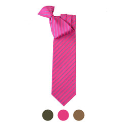 Microfiber Poly Woven Clip-On Tie MPCL2007