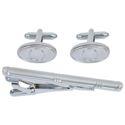 Tie Bar and Cufflink Set CTB2535