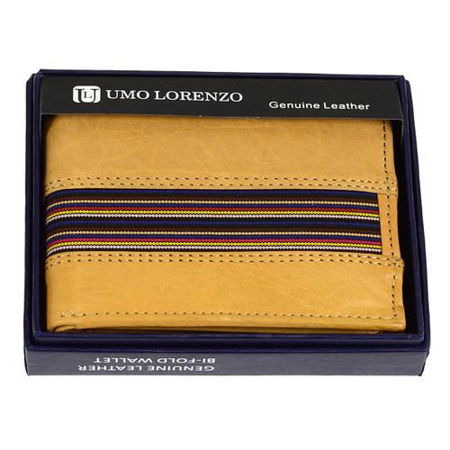 Bi-Fold Genuine Leather Wallet MGLW-MTT014