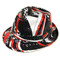 Unisex Sequin Fedora Hat H5632