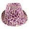 Unisex Sequin Fedora Hat H5641