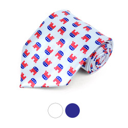 Republican Novelty Polyester Tie - NV1023