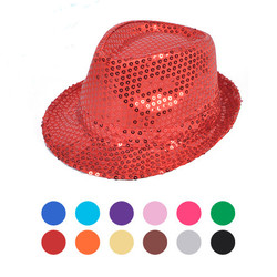 Sequin Fedora Hat - H10246582