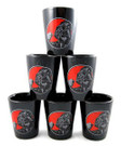 Star Wars Set of 6 Darth Vader Force Is Strong Ceramic Shot Glasses