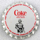 1978 Star Wars Canada Coke C-3PO Metal Bottle Cap, Unused