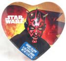 Star Wars Darth Maul Valentine's Day Heart Tin w/Candy Sealed