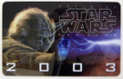 Star Wars Insider 2003 Yoda Membership card