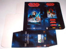 Star Wars Trilogy Video Cassette Box Flat