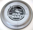 1978 Star Wars X-Wing Pine-Sol Frisbee, Unused, cracked & taped