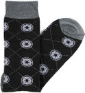 Star Wars Imperial Logos Argyle Men's Crew Socks Shoe Size 6-12