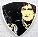 Star Wars Han Solo Guitar Pick 1mm Brand New