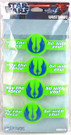 Star Wars Pack of 4 Jedi Order May the Force... Rubber Wristbands