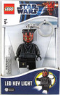 Star Wars Lego Darth Maul Figure Key Chain / LED Key Light 3""