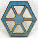 Star Wars Disney Confederacy of Independant Systems Logo Pin