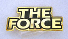1983 Star Wars The Force Logo pin