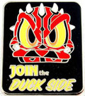 Star Wars Disney Darth Maul Join the Duck Side Pin