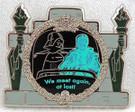 Star Wars Disney Darth Vader/Obi Wan on Haunted Mansion Ride Metal Pin